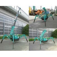 Mini Spider Crane with crawler