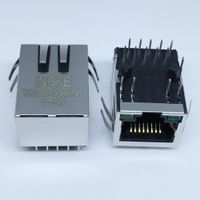 SI-61001-F YKGD-8049NL Single Port RJ45 Magjack Connectors