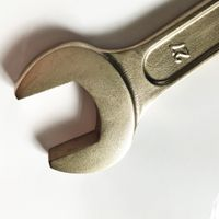 beryllium copper or aluminum bronze double open end non sparking wrench spanner for oil gas thumbnail image
