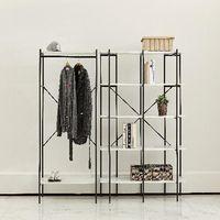 Modern furniture, metal / iron display shelving rack, bookshelf & wardrobe thumbnail image