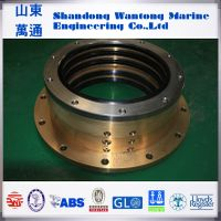Marine oil lubrication stern shaft sealing apparatus for vessels