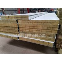 Galvanized prepainted color steel rockwool sandwich panels for clean room