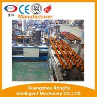 Semi-automatic LED assembly line