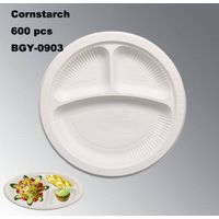 BGY-0903 Cornstarch food using Plate disposable degradable thumbnail image