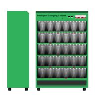 Intelligent Charging Cabinet For Lithium Battery With BMS in Electric Vehicles thumbnail image