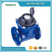 Younio Easy Installation Agriculture Woltmann Bulk Flange Water FlowMeter