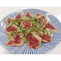 Spicy pickled Nozawana, kelp, radish and wasabi stem (Frozen) thumbnail image
