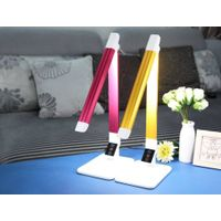 Moden slide switch color and light controllable led desk lamp for eyes protection