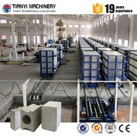 Precast concrete boundary walls light weight EPS concrete wall panel making machine