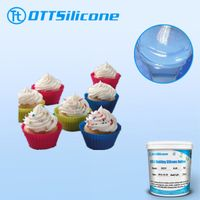 RTV Liquid Silicone Rubber for Cake Mold Making