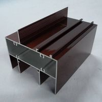 Electrophoresis Aluminum Extrusion, Widely Used in Construction, Decoration, and Industry