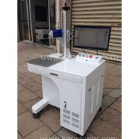 20W Fiber Laser Marking Machine for Steel Aluminum