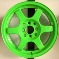 karachi wheels  TE37  rims for 4*100