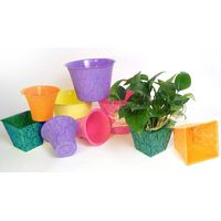 Plastic Vase Bases/Flowerpots