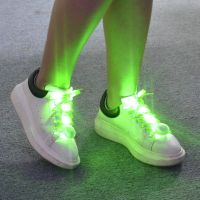 RGB Multi color or 5colors LED mix assorted colors LED shoelace Promotional Women and men adult kids thumbnail image