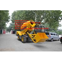 2 M2 Self-loading mobile concrete mixer