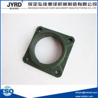 ucf310 bearing housing mounted square shape flange block