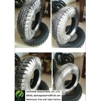 400-8 8PR  pouplar pattern tricycle tire with butyl rubber tube thumbnail image