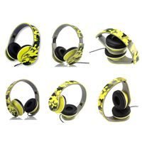 Portable Foldable Stereo Headphones Light Weight