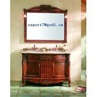 antique solid wood bathroom cabinet GM10-11