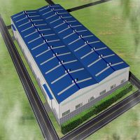 low cost prefab lightweight construction materials steel structure warehouse