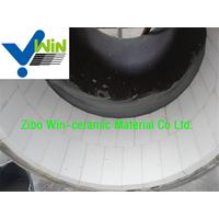 welding on alumina ceramic grinding lining tiles