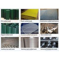 pvc coated wire mesh,green color pvc coated welded wire mesh rolls thumbnail image