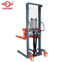 2 .5t Hydraulic Manual Forklift Pallet Stacker for sale thumbnail image