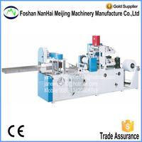 Full Automatic Color Serviettes Paper Folding Machine thumbnail image