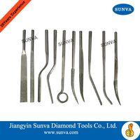 SUNVA Diamond Machine Bent Files / Diamond Files thumbnail image