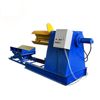 6 Tons Manual Steel Sheet Coil Decoiler Uncoiler Machine thumbnail image