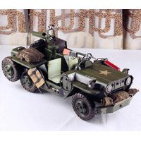 handmade army car model