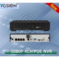 4 CHANNEL1080P POE Network Video Recorder