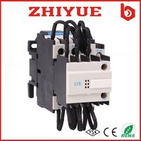ul 220v coil cj19 cj16 95a 3 phase capacitor 3 poles magnetic contactor