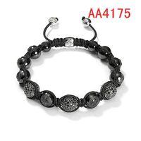 new style shamballa bracelets for men