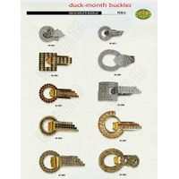 duck-mouth buckle