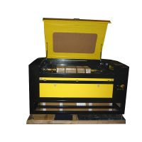 80W wood/acrylic/plywood/PVC/Rubber laser engraving cutting machine 1290