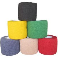 FANGCAN Self-Adhesive Cotton Medical Bandage Elastic Stretch Ankle Finger Muscles Stickers 6 Colors