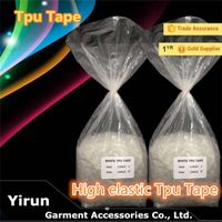 Underwear elasltic tpu tape tpu film High Elasticity TPU Tape cheap price TPU tape