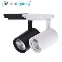 Super bright wall mounted cob energy saving warm white light white light track light