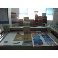 Advertising preprinted board cutter plotter machine