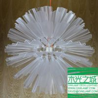 latest design acrylic pendant lamp