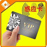 Dual frequency rfid business card 125khz writable rfid em4001 smart card iso 15693 rfid card printer