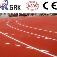 rubber tartan track surface (Spray coat)