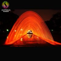 Outdoor Indoor Landscape Colorful Jumping Jets Water Fountain Laminar Jet Fountain
