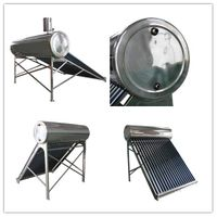 unpressurized high efficient indirect passive thermosiphon solar water heater