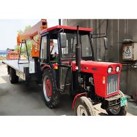 Tractor flatbed crane for mountainous areas and gardens, high horsepower, four-wheel drive