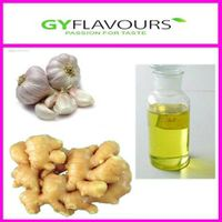 Natural oil of ginger and garlic flavour