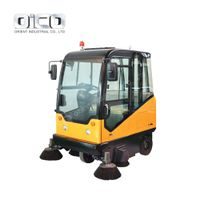 E800LC Industrial Street Cleaning Vehicle Road Sweeper For School/Property/Factory Use thumbnail image