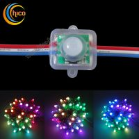 12mm square led pixel light Full Color RGB LED Pixel module Light With IC WS2811/UCS1903/SM16703